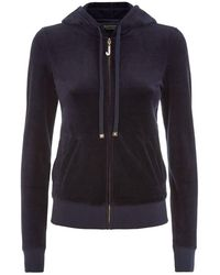 Juicy Couture - J Bling Velour Hoodie - Lyst