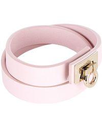 Ferragamo - Gancini Wrap Bracelet - Lyst