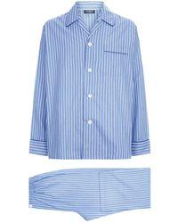 Harrods - Pin Stripe Pyjama Set - Lyst