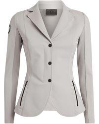 Cavalleria Toscana Technical Knit Riding Jacket - Gray