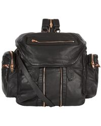 Alexander Wang - Marti Washed Leather Backpack - Lyst