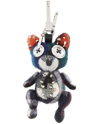Burberry - Dave The Fox Cashmere Charm - Lyst