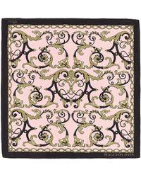 Halcyon Days Silk Wallace Balustrade Scarf - Multicolour