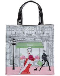 Harrods Small Fashion Window Shopper Bag - Multicolour