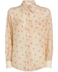 Chloé - Silk All-over Print Shirt - Lyst