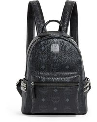MCM Mini Stark Backpack - Black