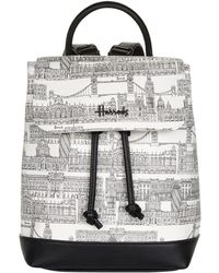 Harrods - Brompton Road Backpack - Lyst