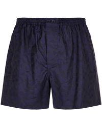 Zimmerli - Tonal Geometric Boxer Shorts - Lyst