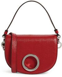 MAX&Co. Leather Crescent Bag - Red