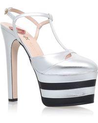 Gucci - Angel 160 Platform Court Shoes - Lyst