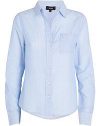 ME+EM Cotton Shirt - Blue