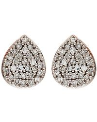 Monica Vinader - Alma Diamond Stud Earrings - Lyst