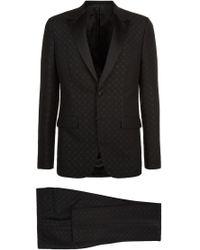 Givenchy Mini Flower Jacquard Tuxedo - Black
