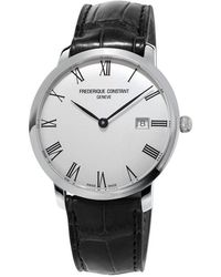 Frederique Constant - Slimline Automatic Watch - Lyst