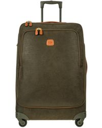 Bric's - Life Olive Green Micro Suede X-large Trolley - Lyst