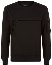 Blood Brother - Zip Detail Sweater - Lyst