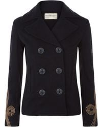 Denim & Supply Ralph Lauren - Military Pea Coat - Lyst