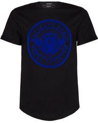Balmain - Medallion Logo T-shirt - Lyst