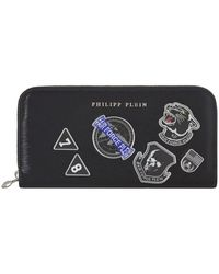Philipp Plein - Flight Pride Zip Around Wallet - Lyst