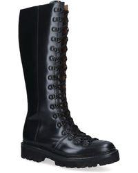 Grenson Nanette Knee-high Boots - Black