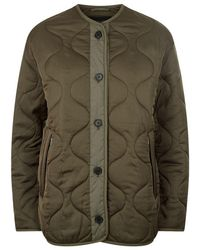 AllSaints - Hayes Quilted Jacket - Lyst