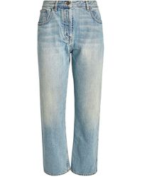 The Row Ashland Straight Jeans - Blue