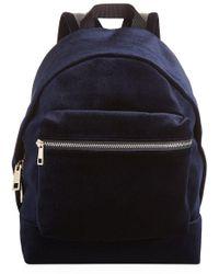 Sandro Avril Velvet Backpack - Multicolour