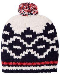 Maje - Bravo Beanie Hat - Lyst