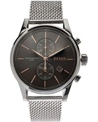 BOSS Black - Jet Mesh Strap Watch - Lyst