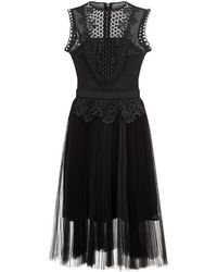 Ted Baker Feifei Lace Tutu Dress - Black