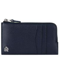 Dunhill - Cadogan Leather Zipped Card Holder - Lyst
