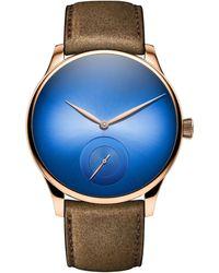 H. Moser & Cie Venturer Small Seconds Xl Watch 43mm - Blue