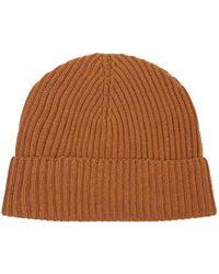 Harrods - Cashmere Beanie Hat - Lyst