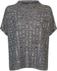 Eileen Fisher - Boxy Marl Sweater - Lyst