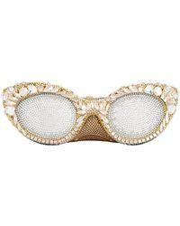 Judith Leiber - Embellished Sunglasses Clutch Bag - Lyst