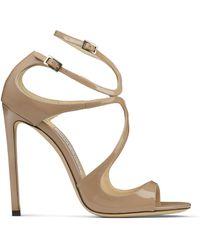 Jimmy Choo 'lang' Sandals - Natural