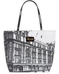 Harrods - Heritage Photograph Print Shoulder Bag - Lyst