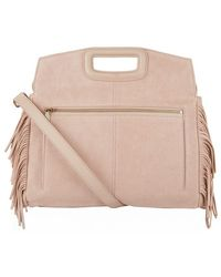 Maje - The Suede M Walk Bag - Lyst