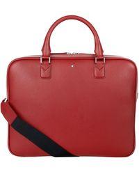 Montblanc - Sartorial Leather Briefcase Portfolio - Lyst