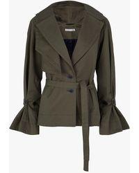 Palmer//Harding - Asymmetric Collar Jacket - Lyst