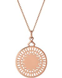 Links of London - Timeless Engraved Pendant Necklace - Lyst