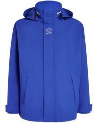 Paul & Shark Technical Hooded Jacket - Blue