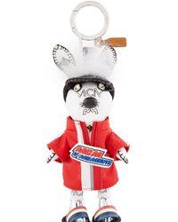 Mcm Heritage Rabbit Charm Keychain - Cognac in Brown - Lyst 29c572e2186dd