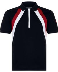Givenchy - Stripe Polo Top - Lyst