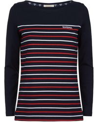 Barbour - Tellin Striped T-shirt - Lyst