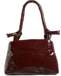 Kassl Lacquered Leather Lady Top-handle Bag - Multicolor