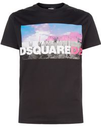 DSquared² - Graphic T-shirt - Lyst