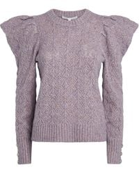 Veronica Beard - Puff-sleeved Sweater - Lyst