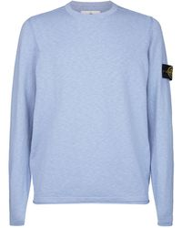 Stone Island - Knitted Sweater - Lyst