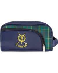 Harrods - St Andrews Tartan Shoe Bag - Lyst
